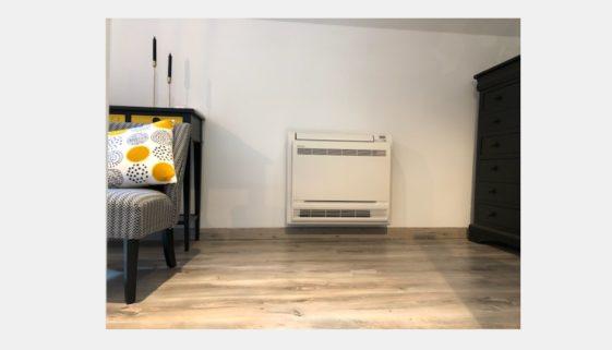 Installation d'une pompe à chaleur air Daikin Stylish + console à Villecresne 94403