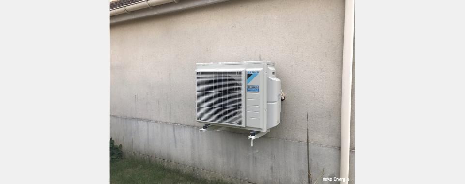 Pompe à chaleur Daikin à Moissy Cramayel (77550)
